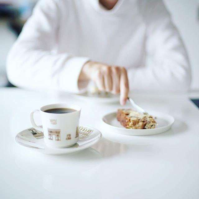 グッドモーニングコーヒー。久しぶりにABLE KONEのステンレスフィルターでコーヒー淹れてみたー。うまい! (Instagram)