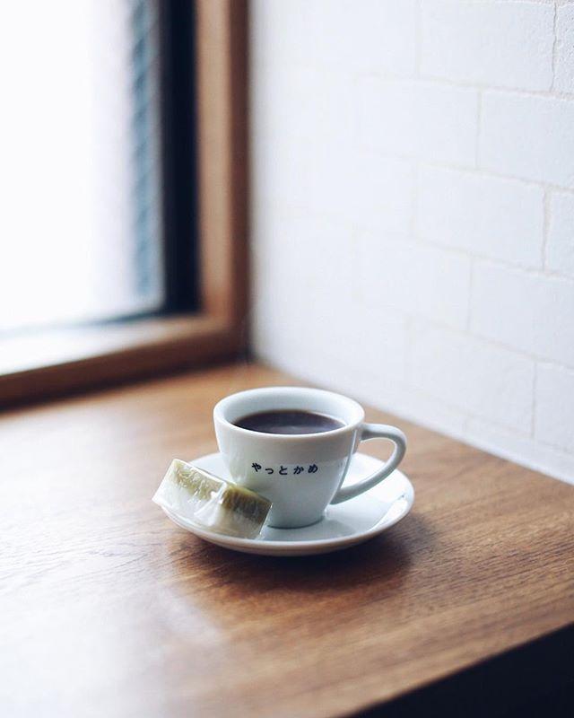 雀おどり總本店の一口ういろでグッドモーニングコーヒー。やっとかめ文化祭のスタンプラリー制覇した!うまい! (Instagram)