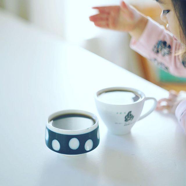 グッドモーニングコーヒー、いい香り〜。うまい! (Instagram)