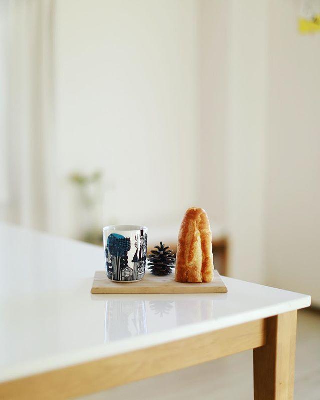 グッドモーニングバゲット&コーヒー。うまい! (Instagram)