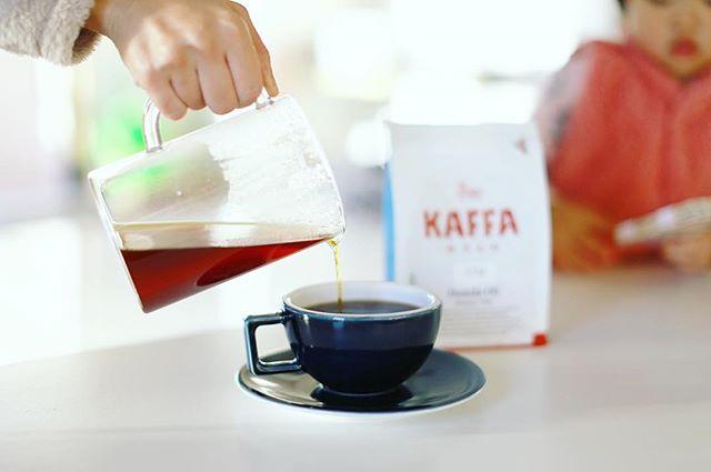 グッドモーニングコーヒー。北欧展でお土産に買ってきたKAFFA OSLOのエチオピア。うまい!#kaffaoslo (Instagram)
