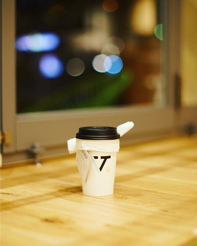 VERVEで食後のコーヒータイム。シーズナルブレンドのMERSHA MERSHA。うまい!-#verve #vervecoffee #vervecoffeeroasters (Instagram)