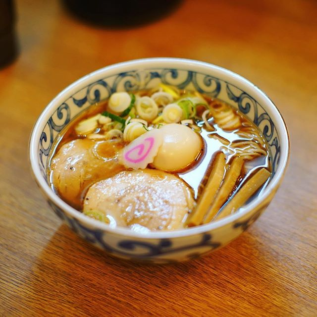 麺場一刻千金に中華そば食べに来たよ。うまい! (Instagram)