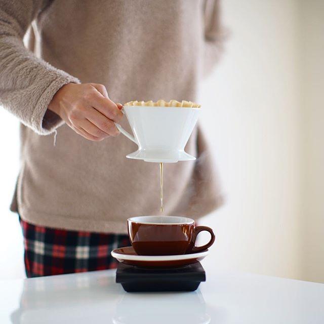 グッドモーニング!ミャンマーコーヒー。もう春ですかね。うまい! (Instagram)