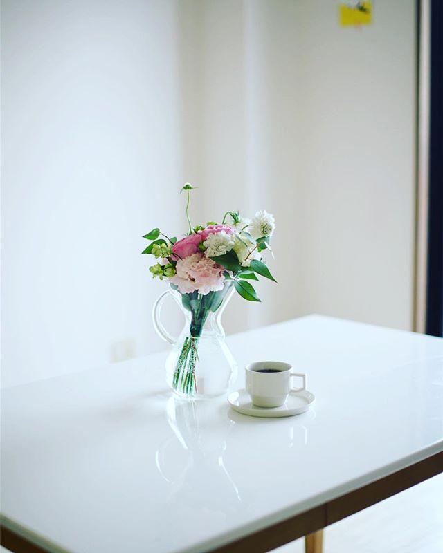 グッドモーニングコーヒー。小雨の月曜日。うまい! (Instagram)