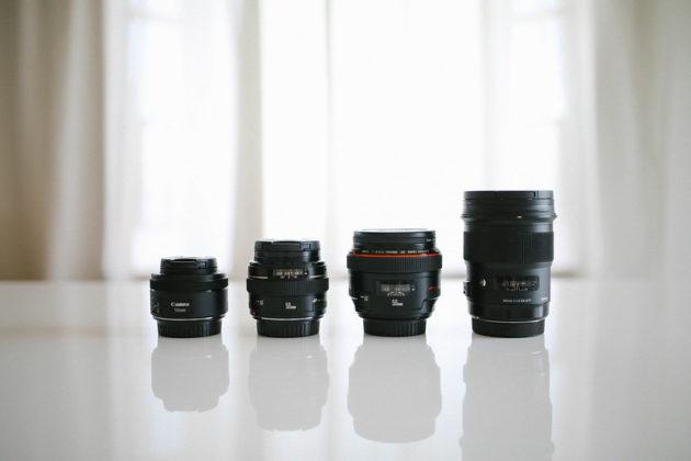 50mm単焦点レンズ比較