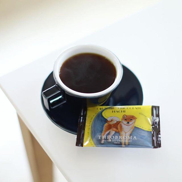 東京写真部の時に富ヶ谷のテオブロマで買った奥渋チョコレートハチでコーヒータイム。やっと家に帰ってきたー。東京のホテルから名古屋の自宅に荷物を宅配便で送ったんだけど、カバンの中に家の鍵を入れたままだったことに気づいたのは、管理会社も終業後の夜の玄関前。家に入れないので、実家で一泊して、朝から家の前で荷物が届くのを待って、なんとかかんとか郵便屋さんが気を利かせてすぐに持ってきてくれたので、やっと家に入れた火曜日の朝。やっぱり家が一番ね。うまい! (Instagram)