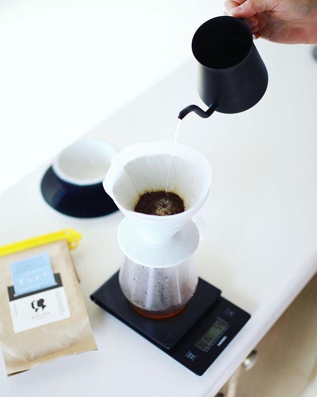 グッドモーニングコーヒー。ゴルピーコーヒーのコスタリカJUANACHUTE。明日の東京写真部に先駆けて、これからちょっと東京へ遊びに行ってきます!うまい! (Instagram)