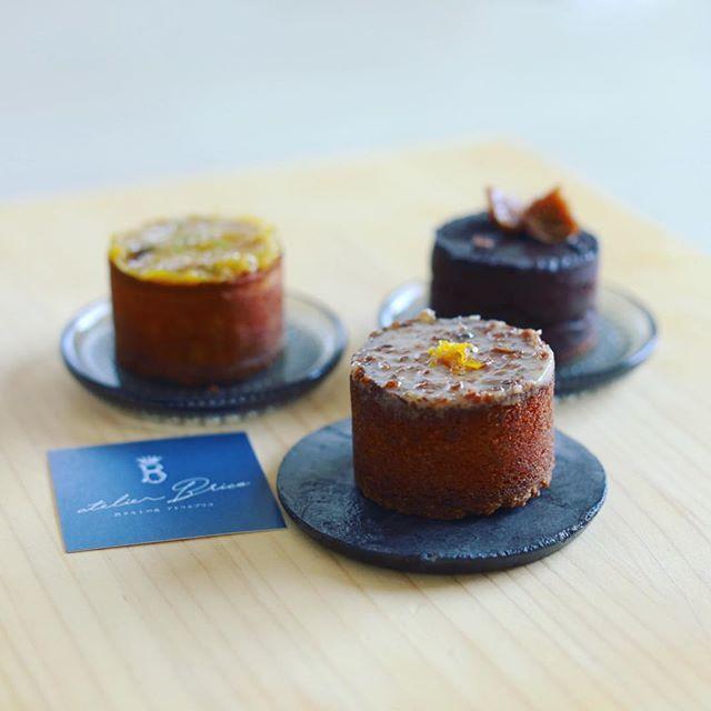 アトリエブリコの熟タルトでおやつタイム。うまい!#atelierbrico (Instagram)