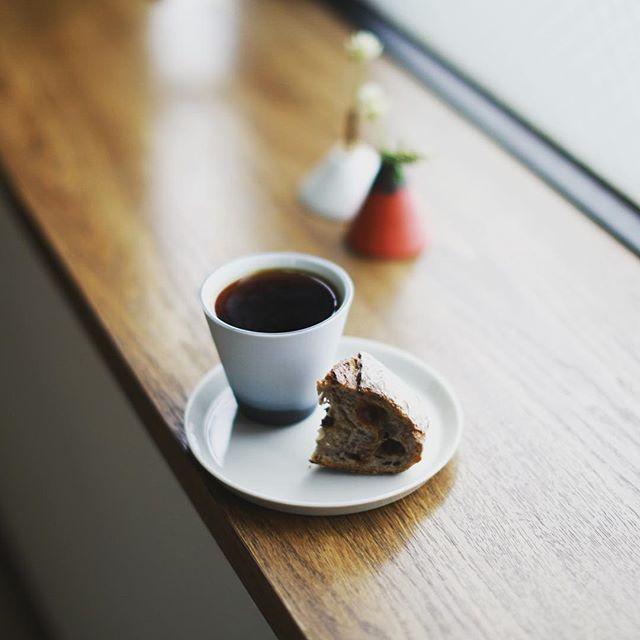SURIPUのノアモアでグッドモーニングコーヒー。小雨の金曜日。うまい! (Instagram)