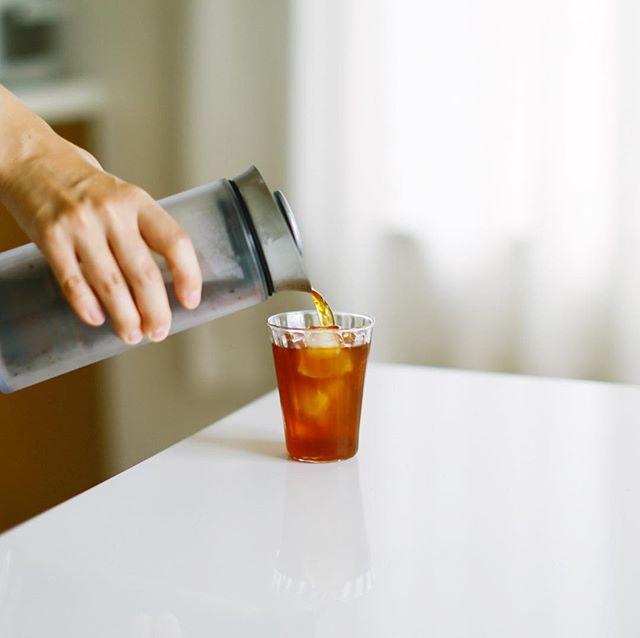 アメリカンプレスで作った水出しコーヒーでグッドモーニング。うまい!-#americanpress #americanpresscoffee (Instagram)