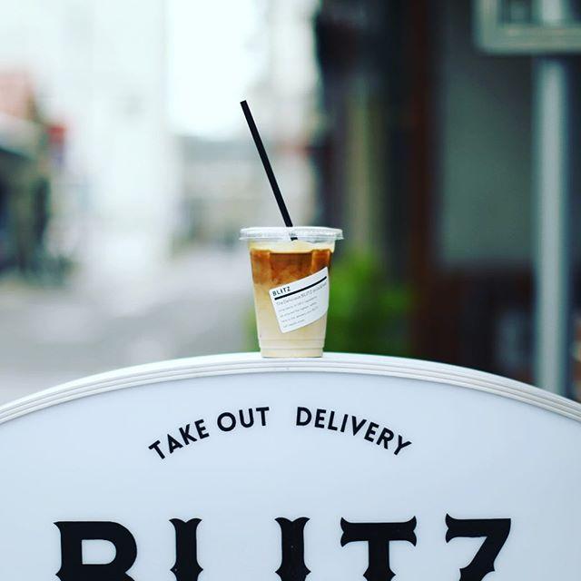 BLITZ coffeeでアイスラテ休憩して、岐阜散歩はおしまい。うまい! (Instagram)
