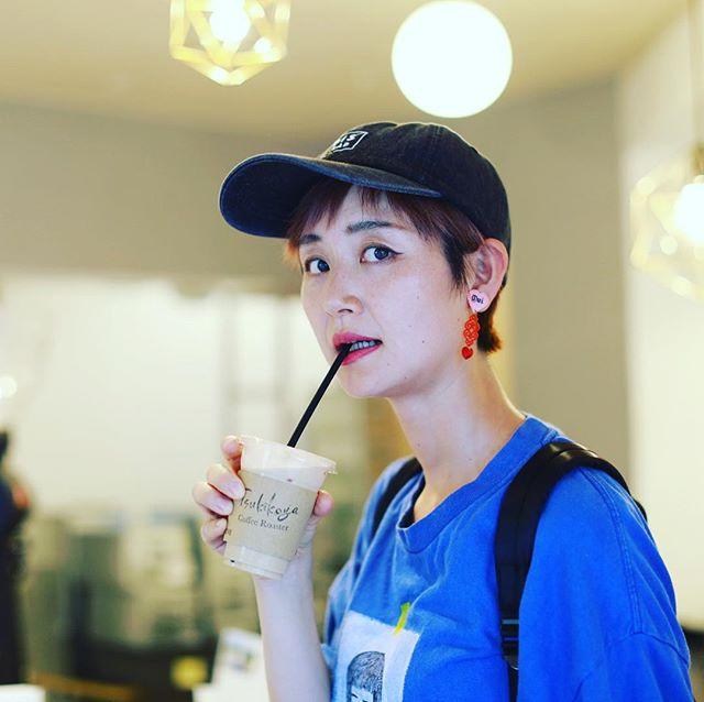 Tsukikoya Coffee Roasterでコーヒータイム。居合わせたお姉さんに横浜のオススメを教えてもらったー。うまい! (Instagram)