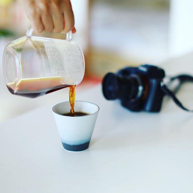 グッドモーニングコーヒー。今日は午後から #PIC写真部 名古屋編、予定通り開催!うまい! (Instagram)