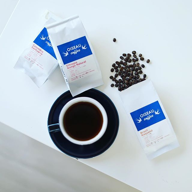 OISEAU COFFEEのシングルオリジン3種類飲み比べでグッドモーニングコーヒー。うまい!#オワゾーコーヒー #oiseaucoffee (Instagram)