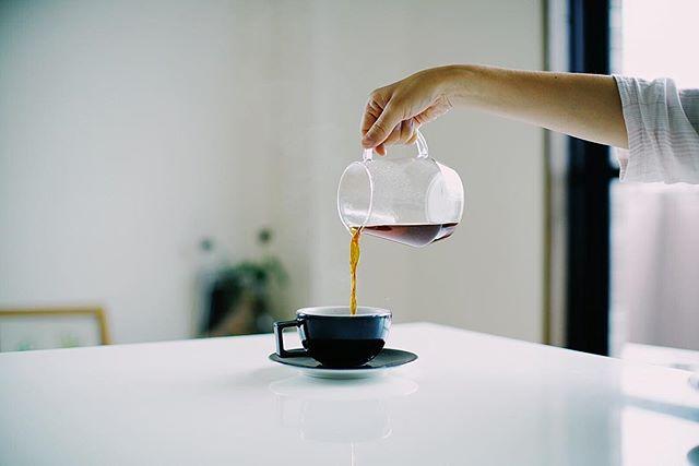 グッドモーニングコーヒー。ケニアカムニャカファクトリー。うまい! (Instagram)