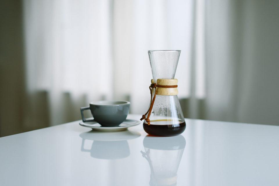 ケメックスのおしゃれな3カップ用コーヒーメーカーを買いました&使い方