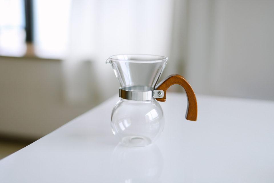 ウッドハンドルのおしゃれな63(ロクサン)ガラスコーヒーメーカーを買いました!