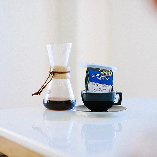 グッドモーニングコーヒー。一昨日のOISEAU COFFEEのお土産、コスタリカLOS TUCANES COE2017。うまい! (Instagram)