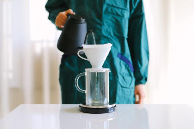 コーヒー1杯分の豆の量は14g・お湯224ml(比率1:16のレシピ&早見表)