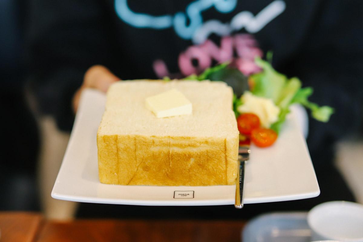 MASA cafeの食パン