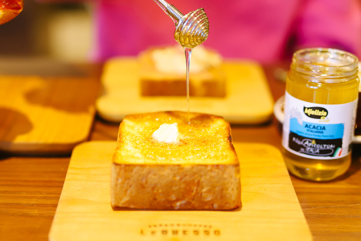 LeBRESSO(レブレッソ)名古屋矢場町店の食パン