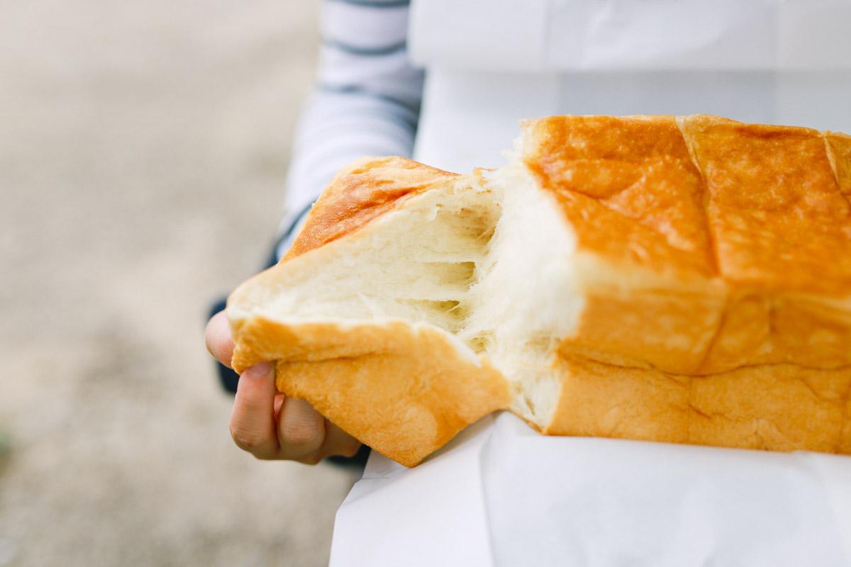とく川の食パン