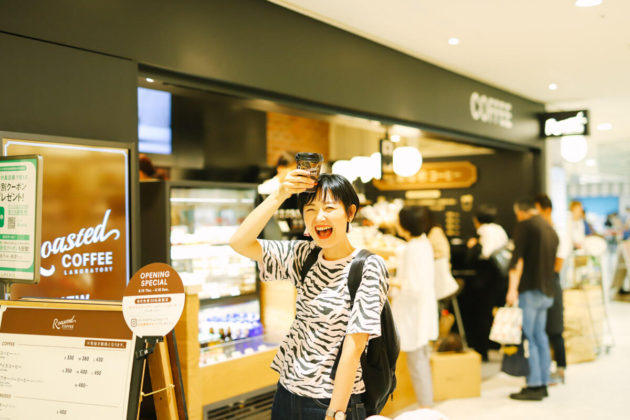ローステッドコーヒーラボラトリー(名古屋ラシック栄)に行ってきました!|Roasted COFFEE LABORATORY