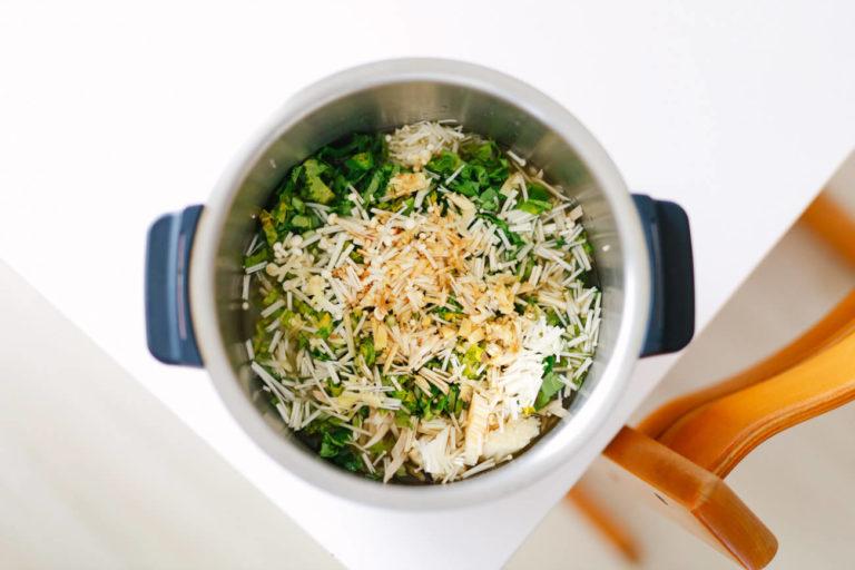 ホットクックでロウカット玄米の炊き込みご飯